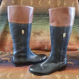 Cole Haan Leather Classic Boots